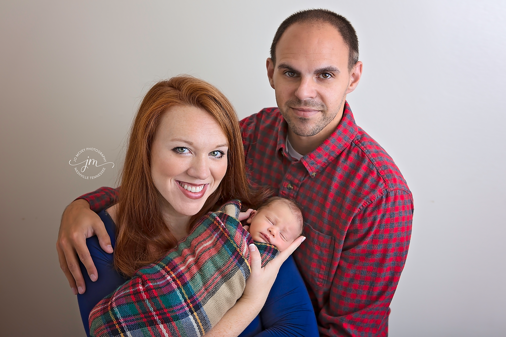 Family of 3 - Nashville Newborn Photographer