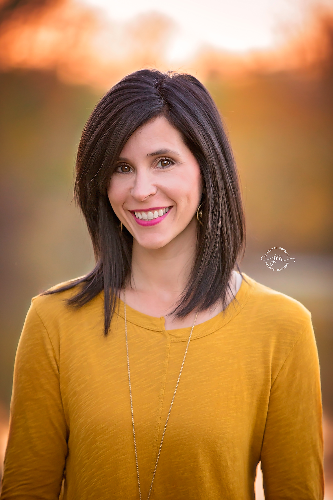 Fall Female Headshot - Nashville Portrait Photographer | Jo McVey Photography
