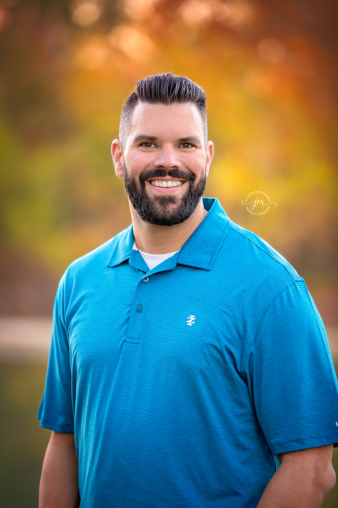 Fall Male Headshot - Nashville Portrait Photographer | Jo McVey Photography