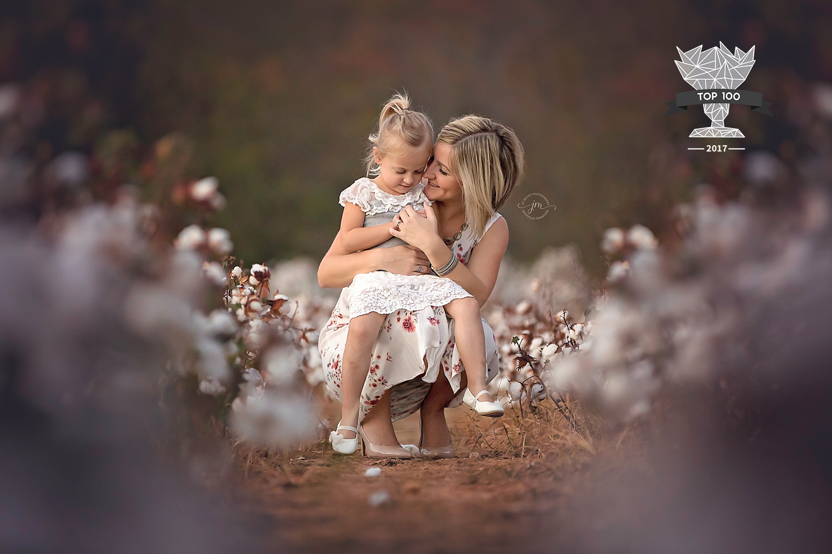 Shoot and share top 100 mother daughter in cotton field