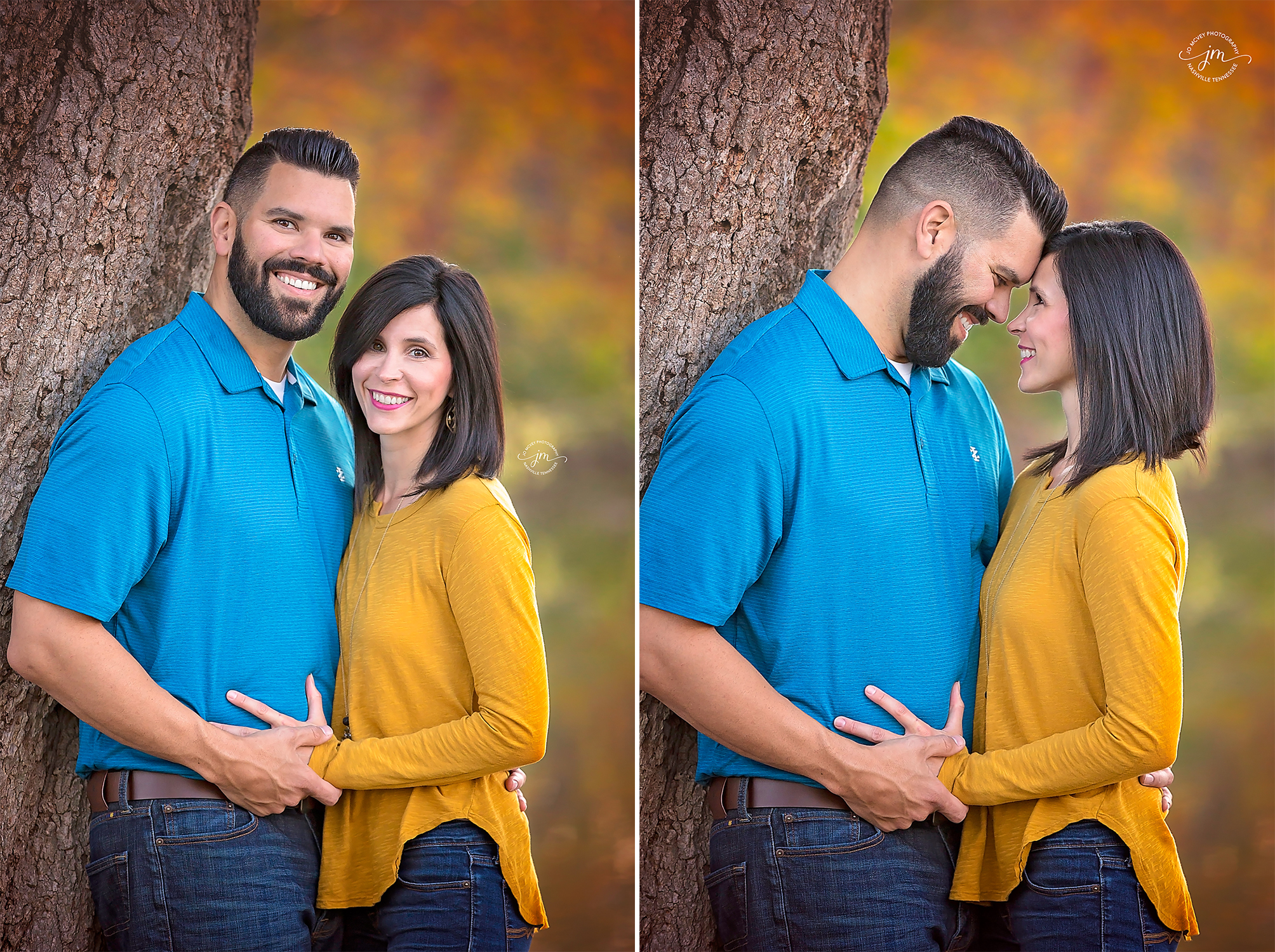 Autumn husband and wife - Gallatin Portrait Photographer | Jo McVey Photography
