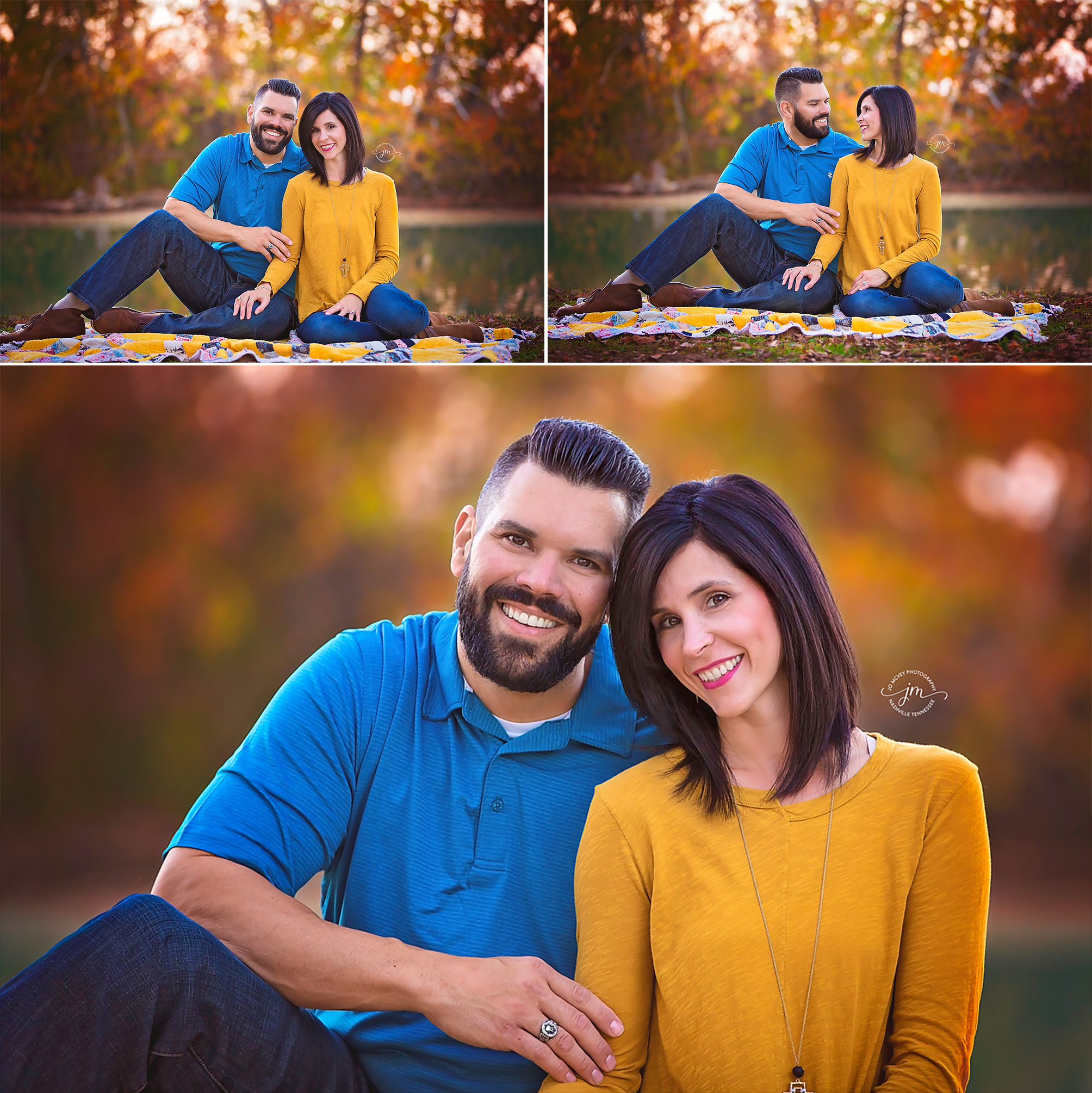 Fall couple - Nashville Portrait Photographer | Jo McVey Photography