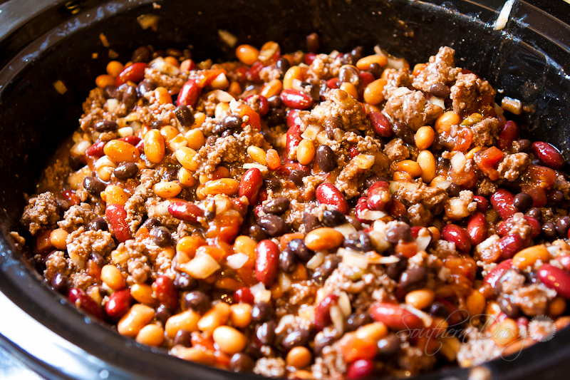 3 Bean Slow Cooker Chili