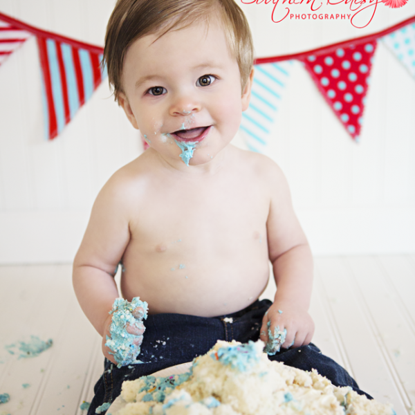 Grayson's Cake Smash (better late than never)