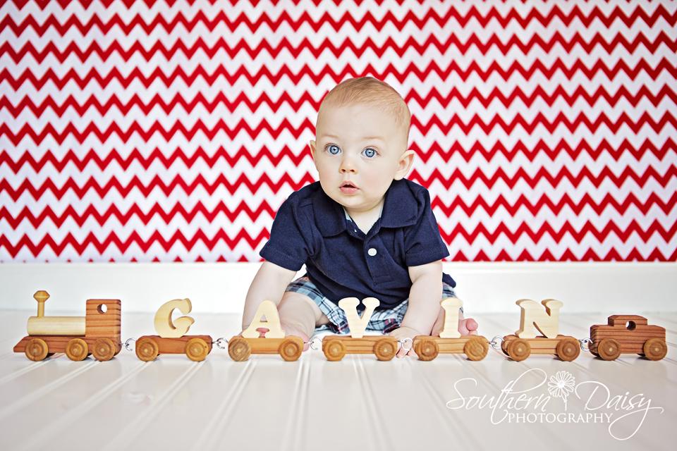 Gavin - 7 months {Hendersonville, TN Baby Photographer}