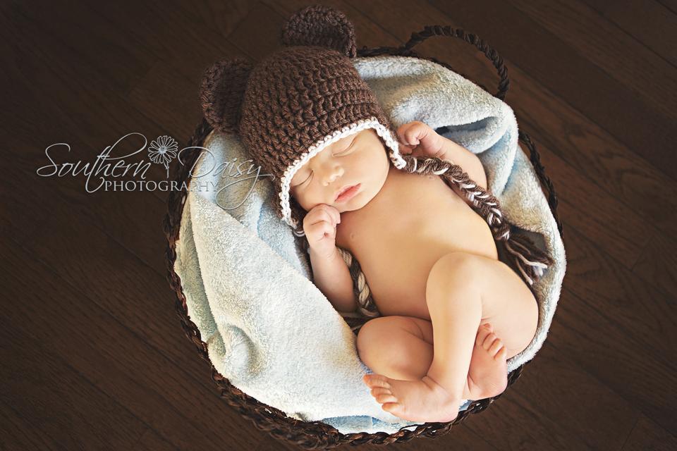 Cruz - 4 Days New {Hendersonville, TN Newborn Photographer}