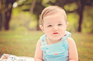 Oliver 6 months   Southern Daisy Photography
