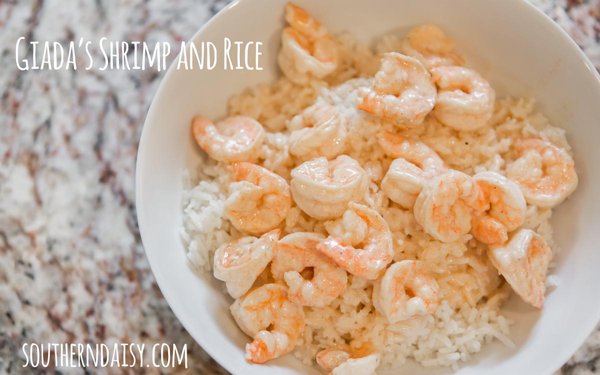 Giada's Shrimp and Rice