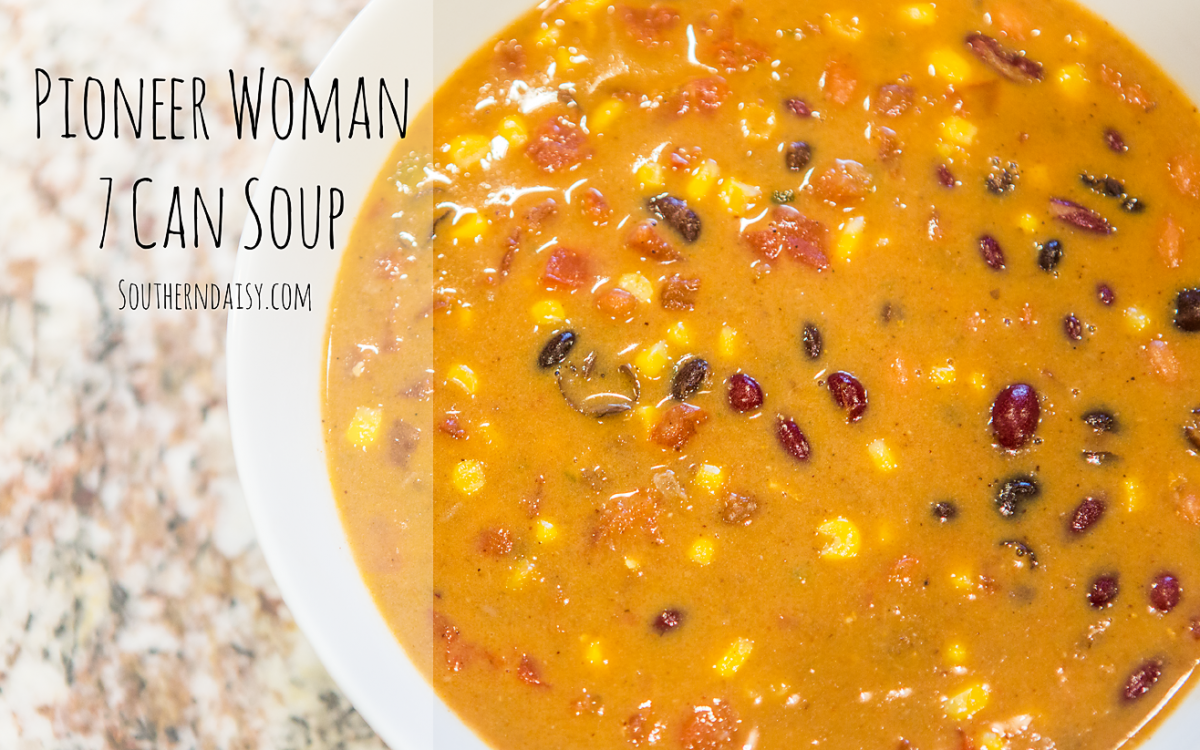 The Pioneer Woman's 7-Can Soup
