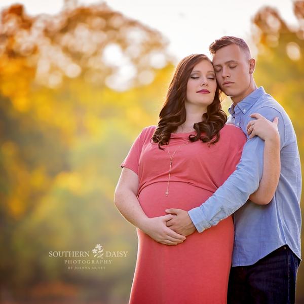 Autumn Baby Girl Pregnancy {Nashville TN Maternity Photographer}