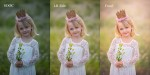Before and After - Princess Editing Video - Jo McVey Photography