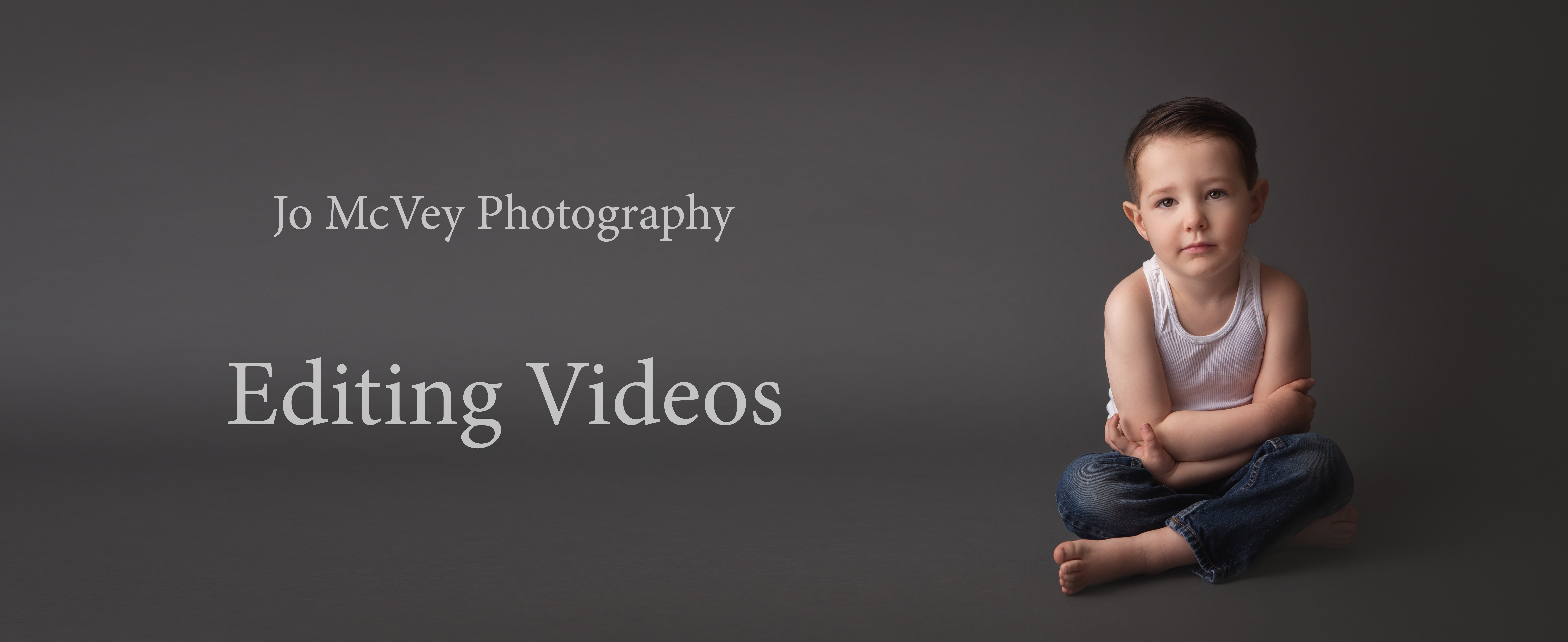 Editing Videos by Jo McVey Photography