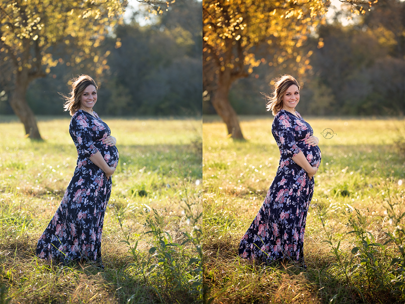 maternity before and after - Jo McVey Photography