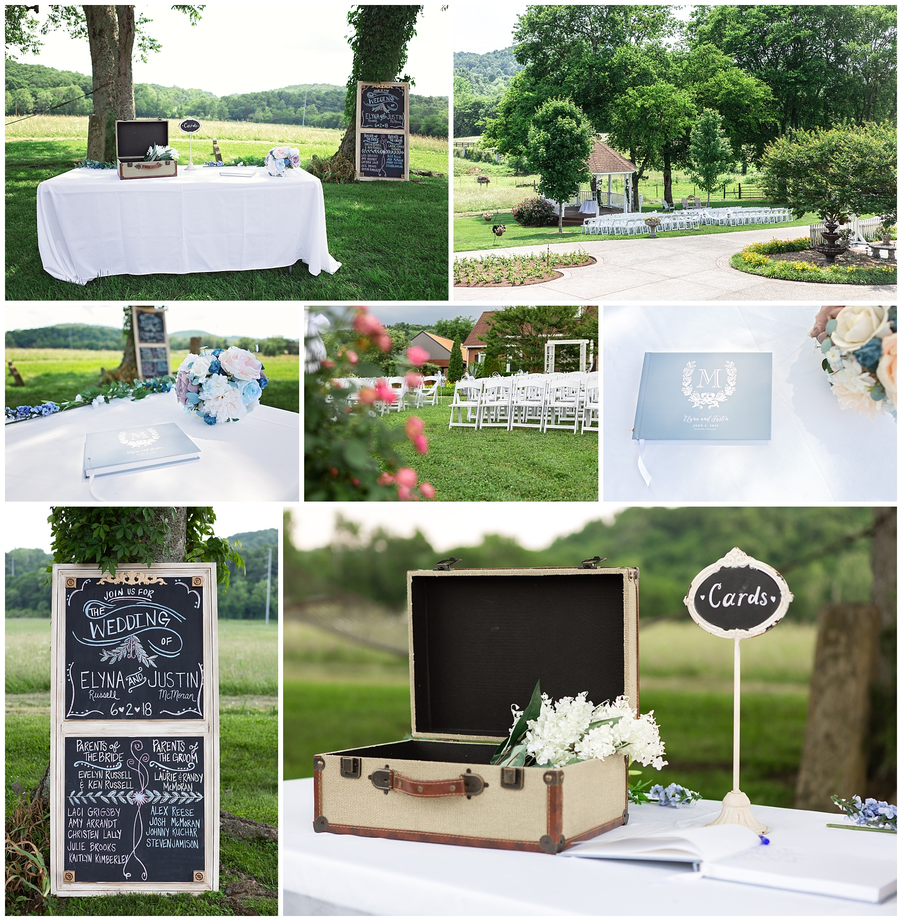 Gallatin Wedding Details - Rock Creek Farm - Jo McVey Photography