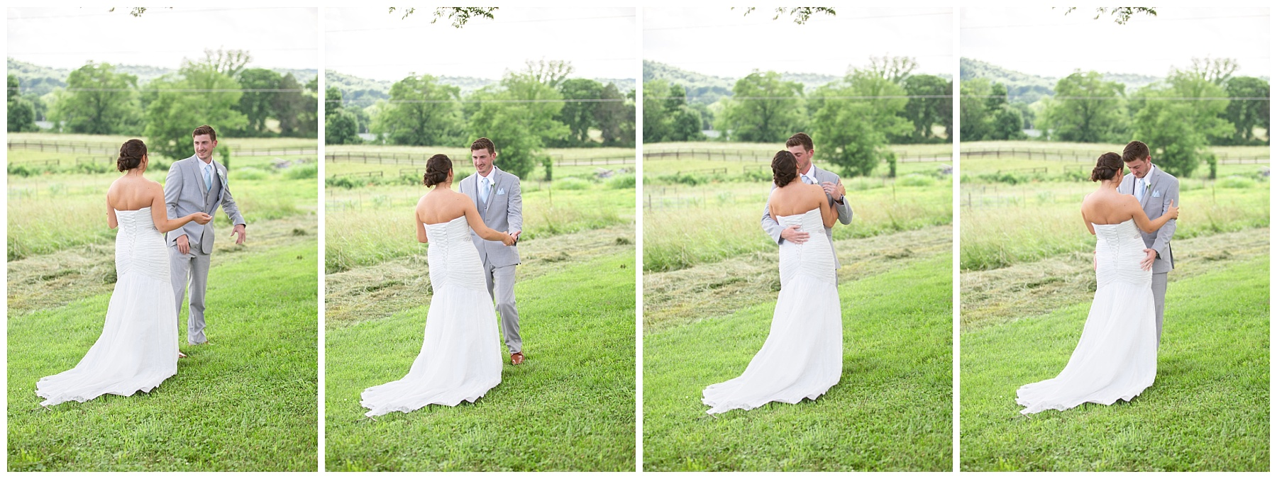 Gallatin Wedding - First Look - Rock Creek Farm