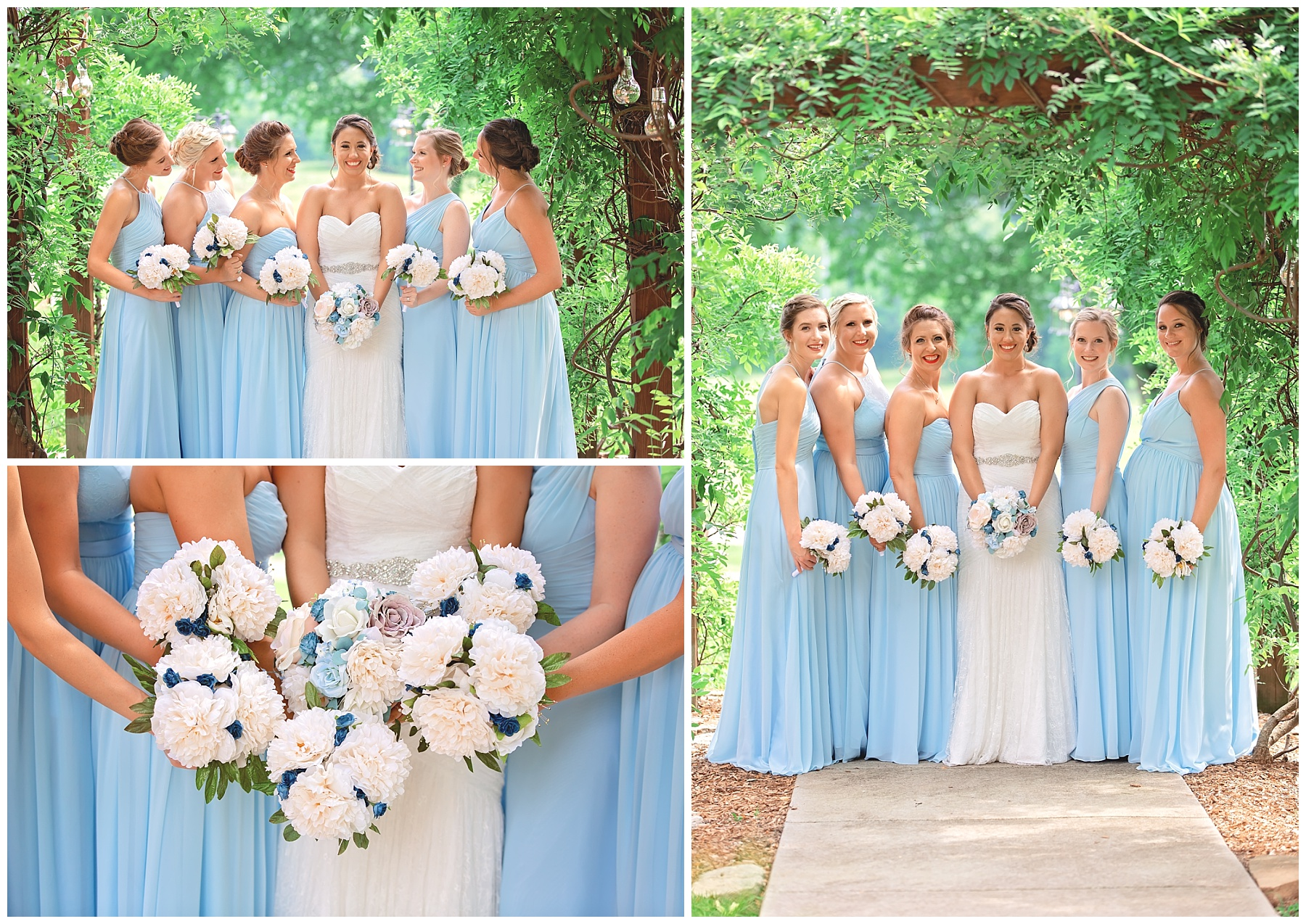 Bridesmaids at Rock Creek Farm in Gallatin Tn - Nashville Wedding