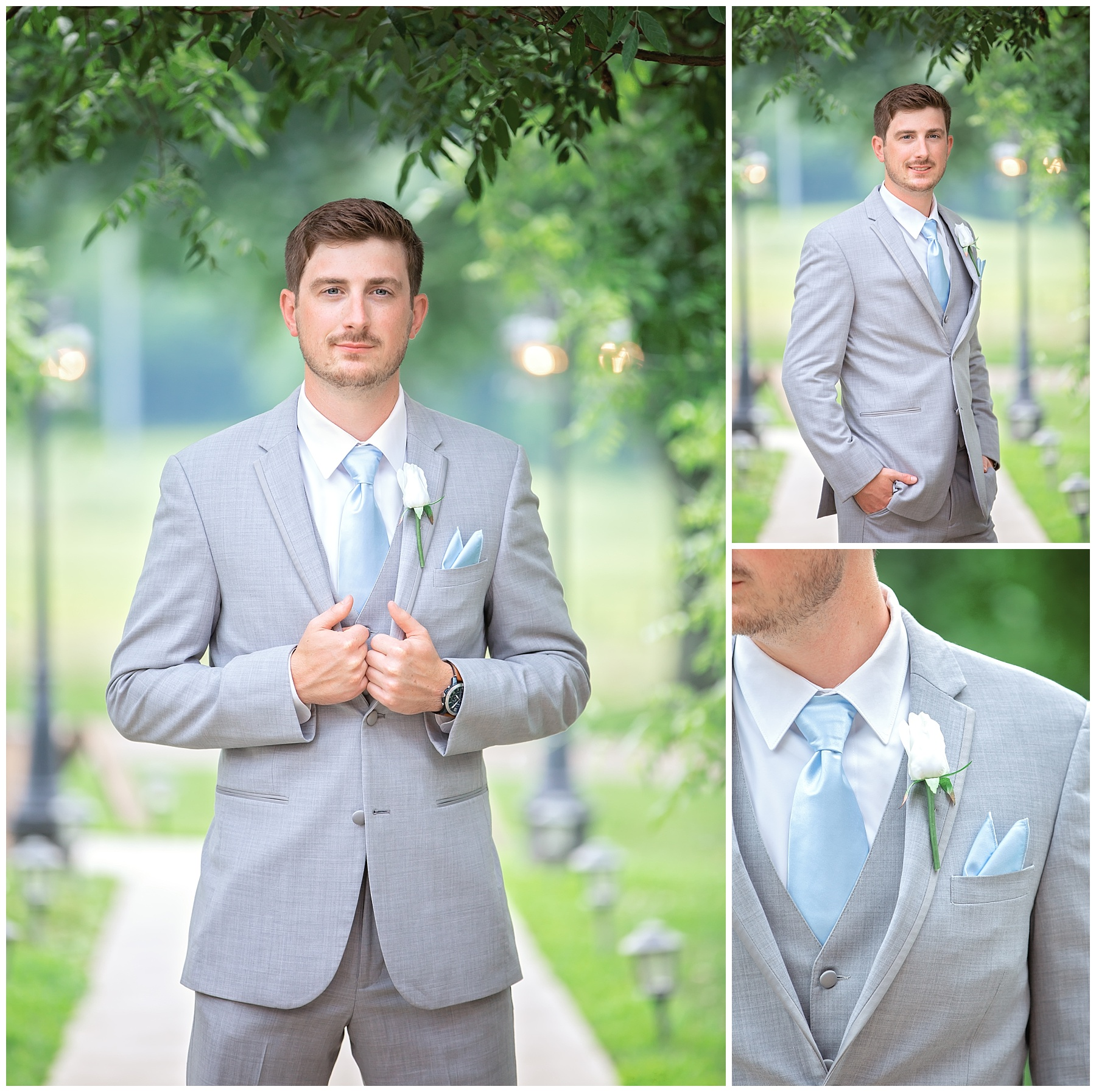 Groom Portraits - Rock Creek Farm - Gallatin Wedding
