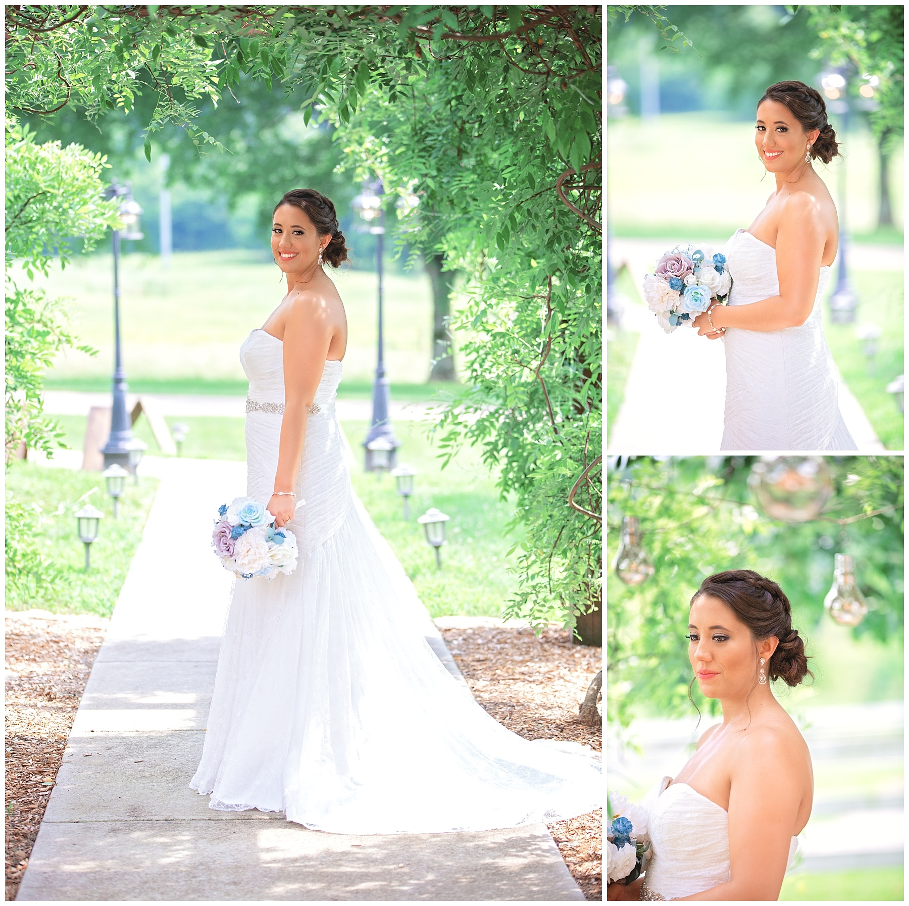 Bridal Portraits - Rock Creek Farm - Gallatin Wedding