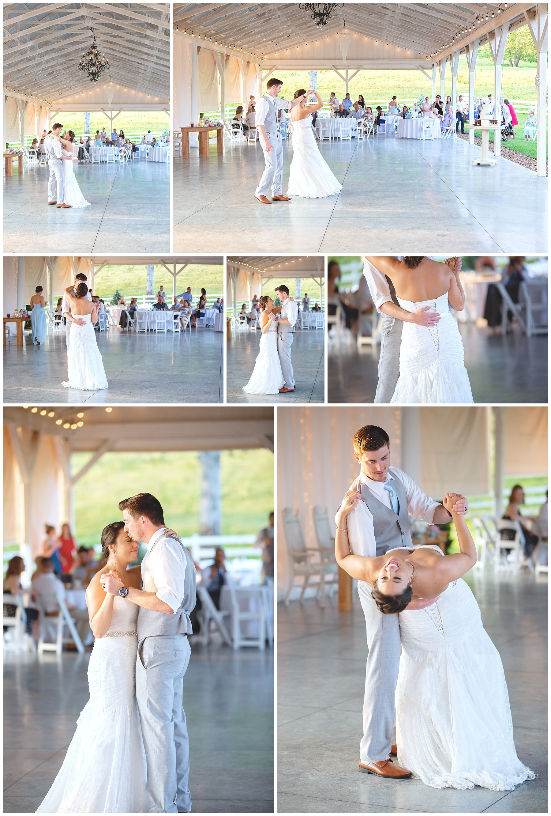 First Dance - Gallatin Wedding - Rock Creek Farm