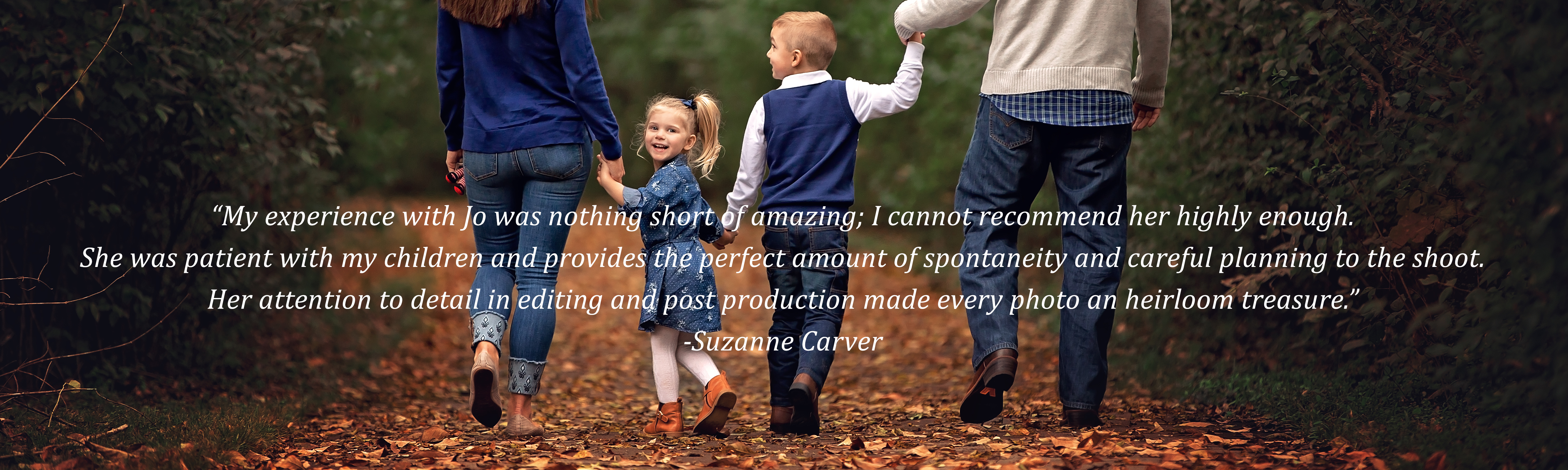 Testimonial for Jo McVey Photography