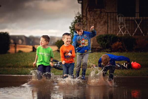 puddle fun after image