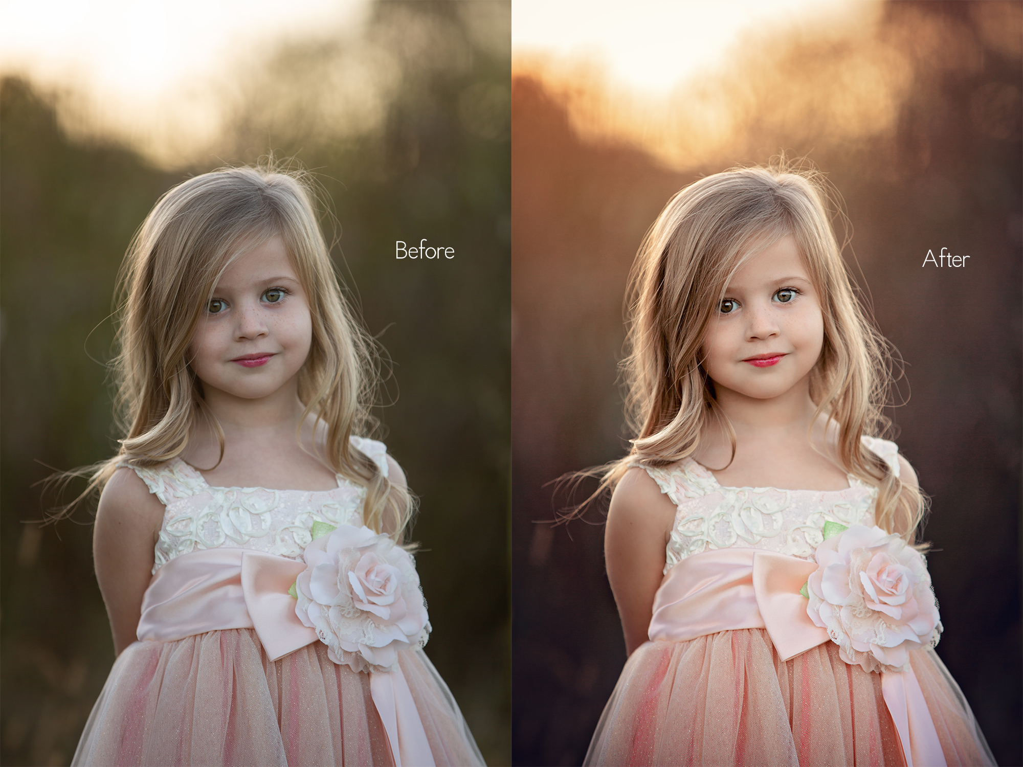 The Tennessee Collection by Jo McVey Photography before and after
